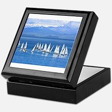 nautical sailboats Keepsake Box