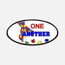 Autism Awareness Love one another Patch