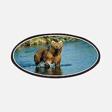 animal kodiak brown bear Patch