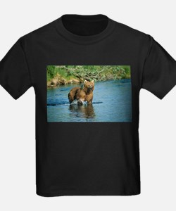 animal kodiak brown bear T-Shirt