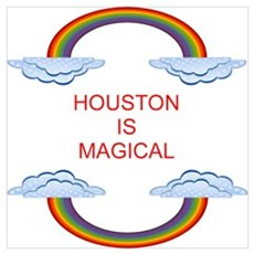 Houston is Magical Poster