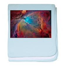 art orion nebula NASA baby blanket