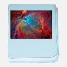 art orion nebula NASA baby blanket