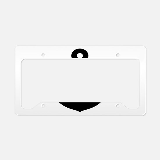nautical anchor License Plate Holder
