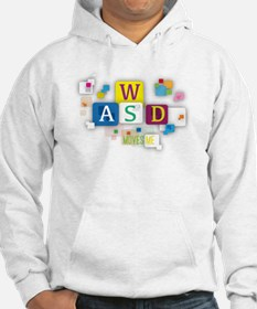 W A S D Moves me Hoodie