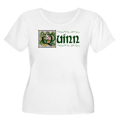 Quinn Celtic Dragon Women's Plus Size Scoop Neck T