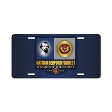 Forrest (C2) Aluminum License Plate