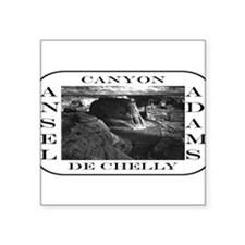 "Cute Black and white photography Square Sticker 3"" x 3"""