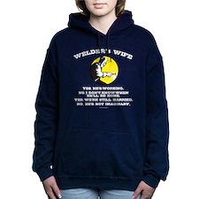 Welder's Wife Humor Women's Hooded Sweatshirt