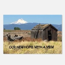New Home with a View Postcards (Package of 8)