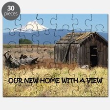 New Home with a View Puzzle