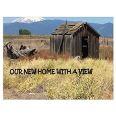 New Home with a View Poster