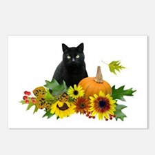 Fall Cat Postcards (Package of 8)