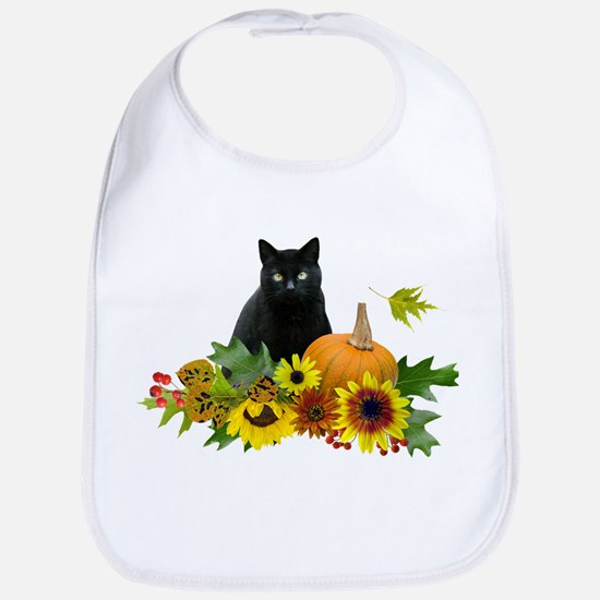 Fall Cat Bib