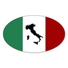 Italian Flag & Boot Decal
