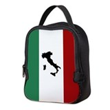 Italy black Neoprene Lunch Bag