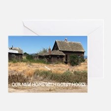 New Home with Guest House Greeting Card