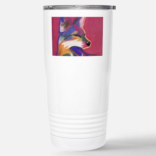 Coyote  Stainless Steel Travel Mug