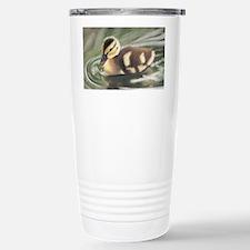 Duckling in Water Stainless Steel Travel Mug