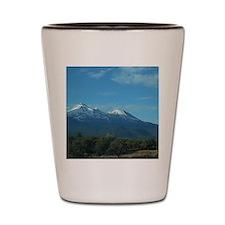 Mt. Shasta Shot Glass