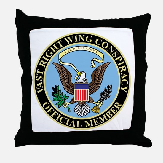 Official Member of the Vast Ri Throw Pillow