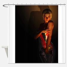 Cute Latex Shower Curtain