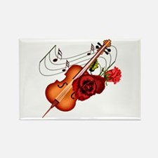 Sweet Music - Rectangle Magnet