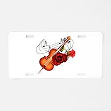 Sweet Music - Aluminum License Plate
