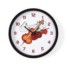 Sweet Music - Wall Clock