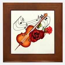 Sweet Music - Framed Tile
