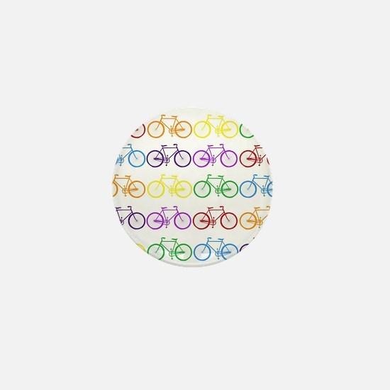 Rack O' Bicycles Mini Button