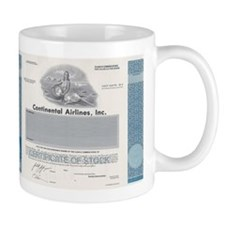 Continental Airlines Mug