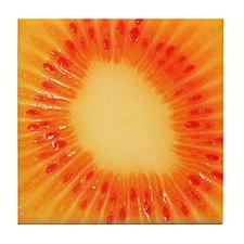 Orange Kiwi Art Tile