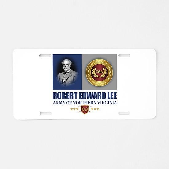 Lee (C2) Aluminum License Plate