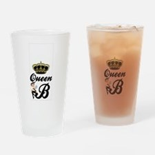 Queen B iPhone Case Drinking Glass