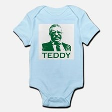 Cute Theodore roosevelt Infant Bodysuit