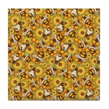 Honeybees Tile Coaster