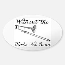 Trombone Sticker (oval)