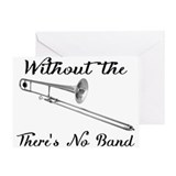 Trombone Greeting Cards