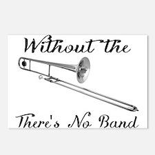 Trombone Postcards (package Of 8)