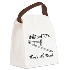Trombone Canvas Lunch Bag