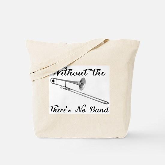 Trombone Tote Bag