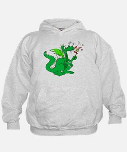 Roasting Marshmallows Dragon Hoody
