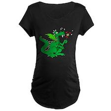 Roasting Marshmallows Dragon T-Shirt