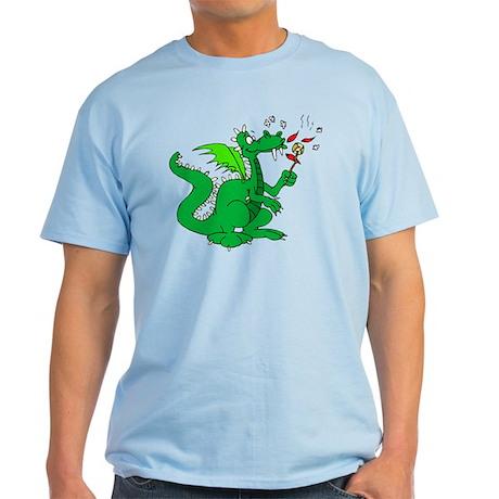 Roasting Marshmallows Dragon Light T-Shirt
