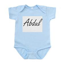 Abdul Artistic Name Design Body Suit