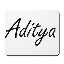Aditya Artistic Name Design Mousepad