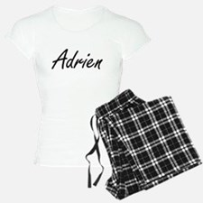 Adrien Artistic Name Design Pajamas