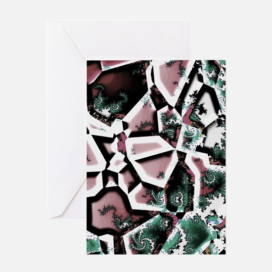 Fractal Collage Greeting Cards