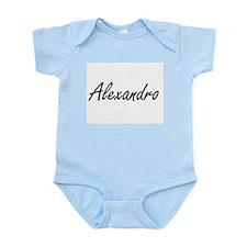 Alexandro Artistic Name Design Body Suit